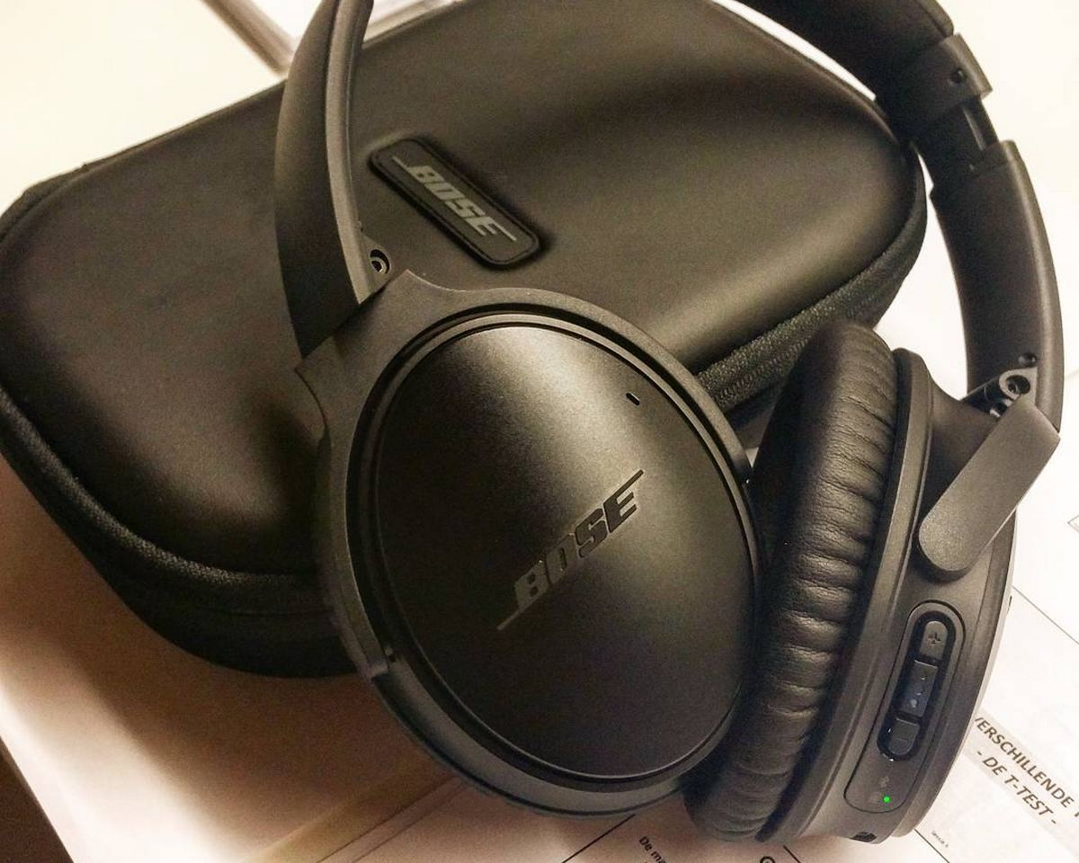 Bose QuietComfort 35 - Design