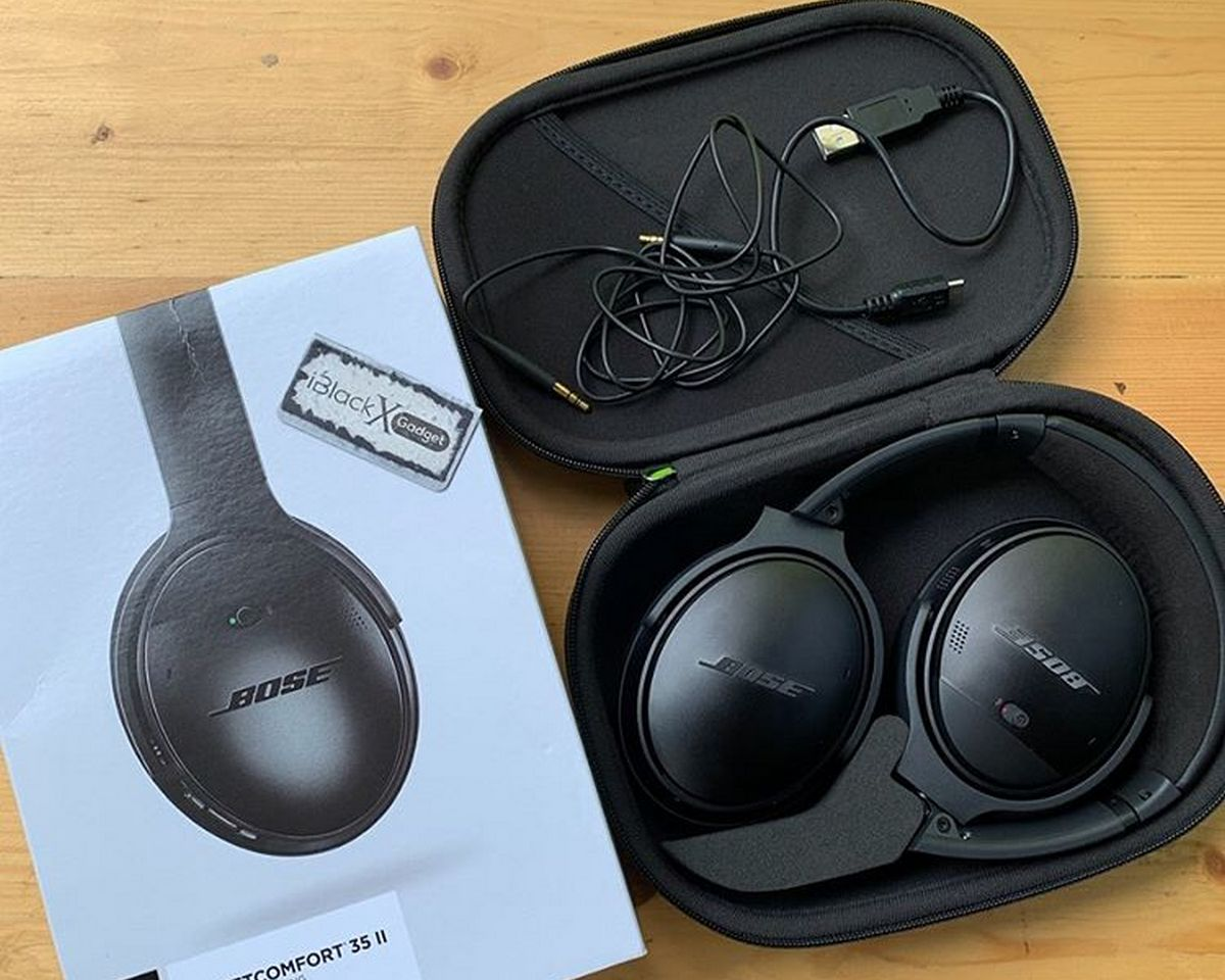 Bose QuietComfort 35 II - Accessoires