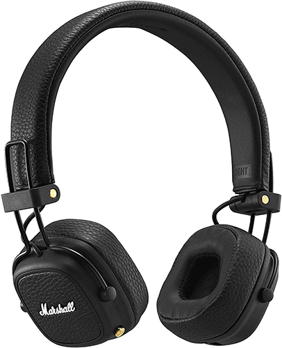 Marshall Major III Bluetooth Wireless On-Ear Headphones, Black