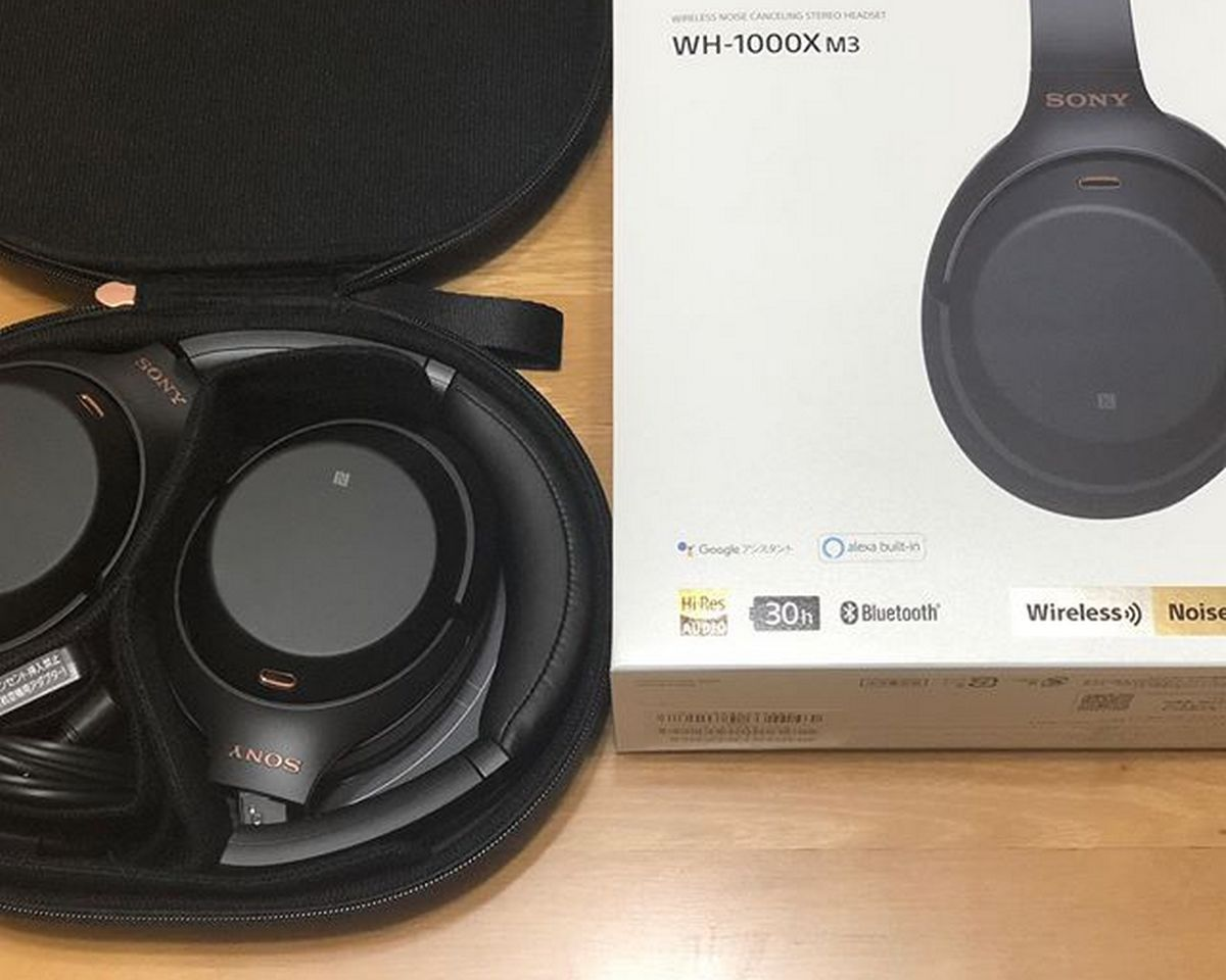 Sony WH-1000XM3 – Accessoires