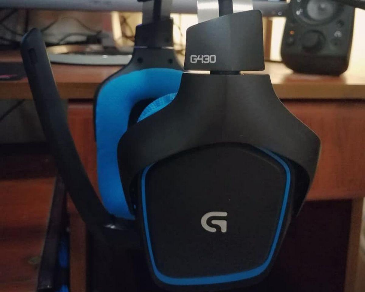 Logitech G430 - Design