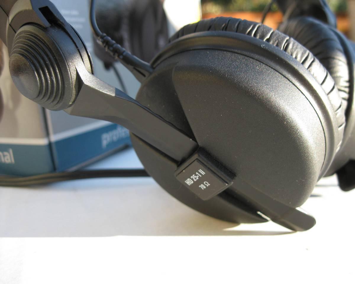 Sennheiser HD 25-1 II - Réduction de bruit