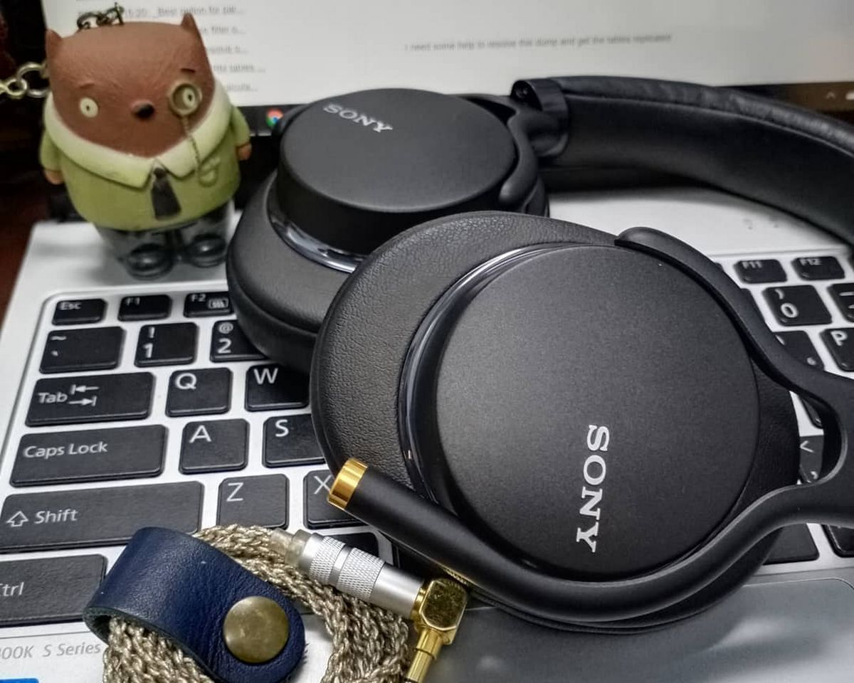 casque sony mdr 1a non reconnu