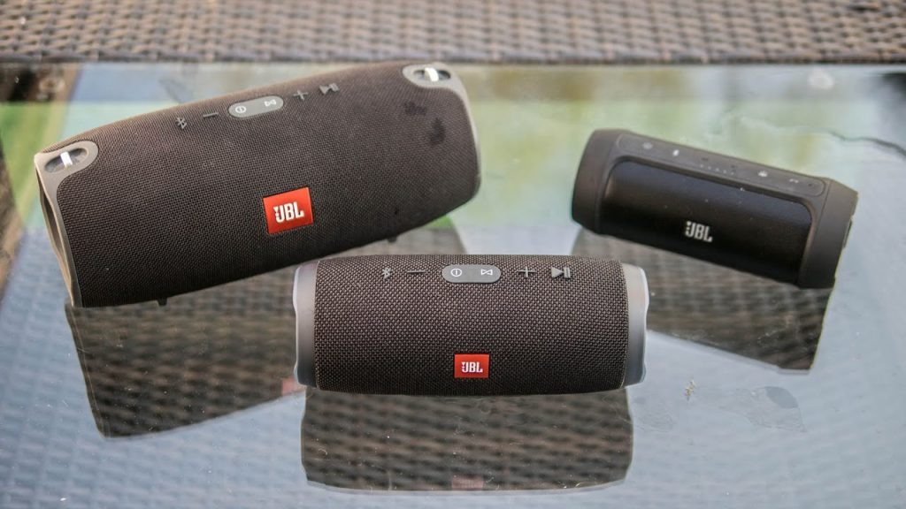 JBL Charge 4 - Comparatif.