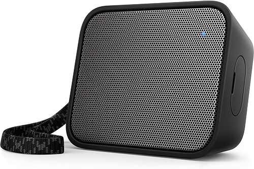Philips - Wireless Bluetooth Speaker Philips BT110B 4W Black