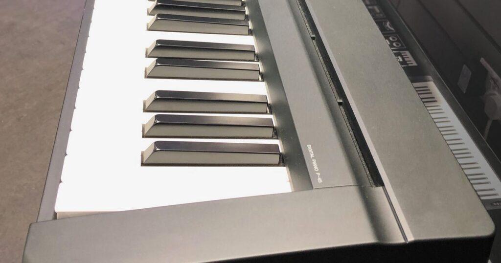 Yamaha P-45 Qualité du son
